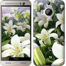 Чехол для HTC One M9 Plus Белые лилии 2686u-134