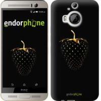 Чехол для HTC One M9 Plus Черная клубника 3585u-134
