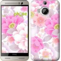 Чехол для HTC One M9 Plus Цвет яблони 2225u-134