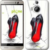 Чехол для HTC One M9 Plus Devil Wears Louboutin 2834u-134
