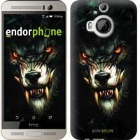 Чехол для HTC One M9 Plus Дьявольский волк 833u-134
