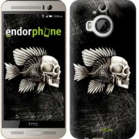 Чехол для HTC One M9 Plus Рыбо-человек 683u-134
