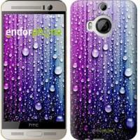 Чехол для HTC One M9 Plus Капли воды 3351u-134
