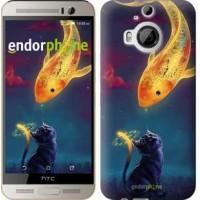 Чехол для HTC One M9 Plus Кошкин сон 3017u-134