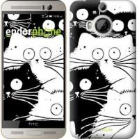Чехол для HTC One M9 Plus Коты v2 3565u-134