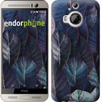 Чехол для HTC One M9 Plus Листья v3 3328u-134