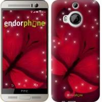 Чехол для HTC One M9 Plus Лунная бабочка 1663u-134