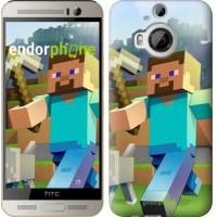 Чехол для HTC One M9 Plus Minecraft 4 2944u-134