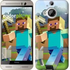 Чехол для HTC One M9 Plus Minecraft 4 2944u-134
