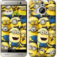 Чехол для HTC One M9 Plus Миньоны 8 860u-134