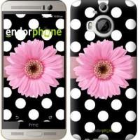 Чехол для HTC One M9 Plus Горошек 2 2147u-134