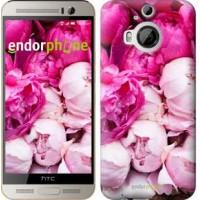 Чехол для HTC One M9 Plus Розовые пионы 2747u-134