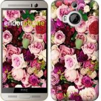 Чехол для HTC One M9 Plus Розы и пионы 2875u-134