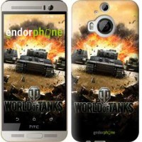 Чехол для HTC One M9 Plus World of tanks v1 834u-134