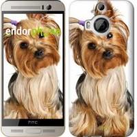 Чехол для HTC One M9 Plus Йоркширский терьер с хвостиком 930u-134