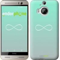 Чехол для HTC One M9 Plus Знак бесконечности 3204u-134