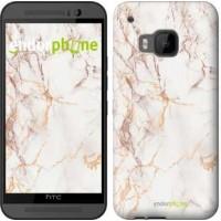 Чехол для HTC One M9 Белый мрамор 3847u-129