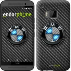 Чехол для HTC One M9 BMW. Logo v3 3109u-129