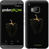 Чехол для HTC One M9 Черная клубника 3585u-129