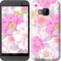 Чехол для HTC One M9 Цвет яблони 2225u-129