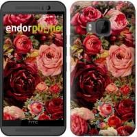 Чехол для HTC One M9 Цветущие розы 2701u-129