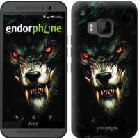 Чехол для HTC One M9 Дьявольский волк 833u-129