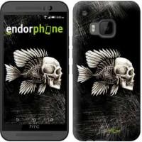 Чехол для HTC One M9 Рыбо-человек 683u-129