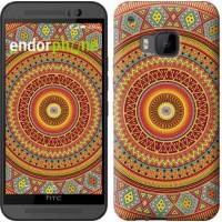 Чехол для HTC One M9 Индийский узор 2860u-129