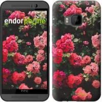 Чехол для HTC One M9 Куст с розами 2729u-129