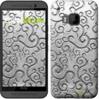 Чехол для HTC One M9 Металлический узор 1015u-129