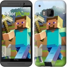 Чехол для HTC One M9 Minecraft 4 2944u-129
