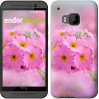 Чехол для HTC One M9 Розовая примула 508u-129