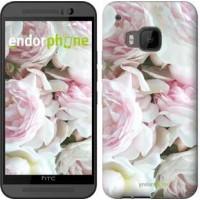 Чехол для HTC One M9 Пионы v2 2706u-129