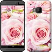 Чехол для HTC One M9 Розы 525u-129