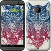 Чехол для HTC One M9 Сова 2 2726u-129