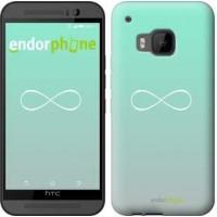 Чехол для HTC One M9 Знак бесконечности 3204u-129