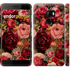 Чехол для HTC One X10 Цветущие розы 2701m-995