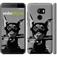 Чехол для HTC One X10 Доберман 2745m-995