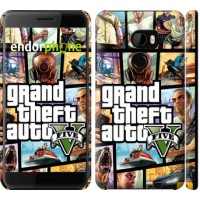 Чехол для HTC One X10 GTA 5. Collage 630m-995