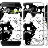 Чехол для HTC One X10 Коты v2 3565m-995