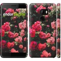Чехол для HTC One X10 Куст с розами 2729m-995
