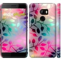 Чехол для HTC One X10 Листья 2235m-995