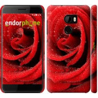 Чехол для HTC One X10 Красная роза 529m-995