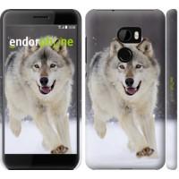 Чехол для HTC One X10 Бегущий волк 826m-995
