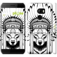 Чехол для HTC One X10 Тотем волка 3484m-995