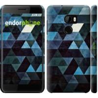 Чехол для HTC One X10 Треугольники 2859m-995