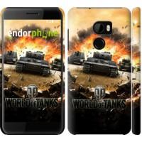 Чехол для HTC One X10 World of tanks v1 834m-995