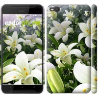 Чехол для HTC One X9 Белые лилии 2686m-783