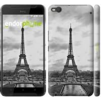 Чехол для HTC One X9 Чёрно-белая Эйфелева башня 842m-783