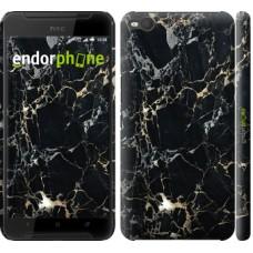 Чехол для HTC One X9 Черный мрамор 3846m-783
